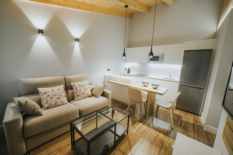 Apartamento alquiler con patio en León